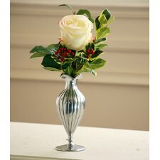 Single Rose Holiday Vase