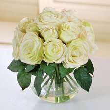 Roses with Bubble Bowl