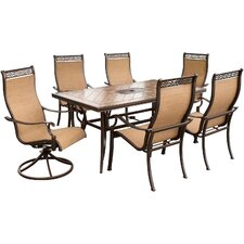 <strong>Hanover Outdoor</strong> Monaco 7 Piece Dining Set