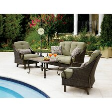Ventura 4 Piece Deep Seating Group with Cushions