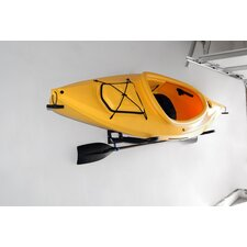 Kayak / Canoe Storage and Portage Ultimate Wall Mount Folding Rack