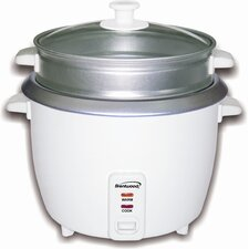 <strong>Brentwood Appliances</strong> Rice Cooker with Steamer