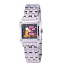 Women's Square Steel Bracelet Strap Watch