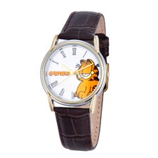 Men's Cardiff Leather Strap Watch