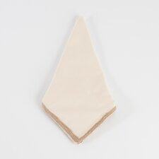 Burlap Trimmed Design Napkin