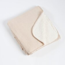Saybrook Classic Design Throw with Sherpa