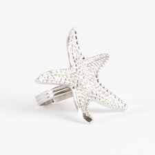 Star Fish Design Napkin Ring