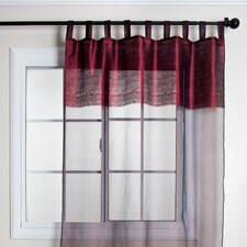 Brocade Tissue Silk Curtain Single Panel