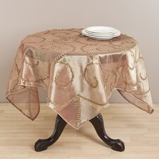 Hand Beaded Table Topper