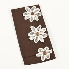 American Classics Hemstitched Flower Power Towel
