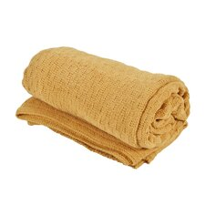 Chenille Polyester Throw