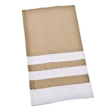 American Classics Embroidered and Banded Guest Towel