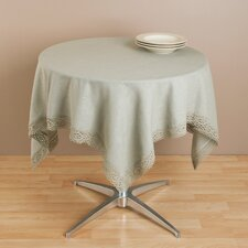 Lace Trimmed Table Topper