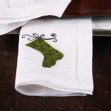 "Hemstitched ""Stocking"" Napkin"