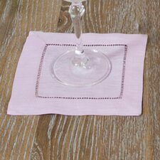 Hemstitched Cocktail Napkin