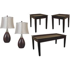 Scottsdale 5 Piece Coffee Table Set