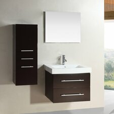 "<strong>Kokols</strong> 28"" Single Sink Bathroom Vanity Set"