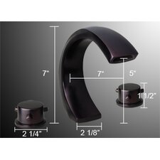 Bathroom Tub Waterfall Faucet Trim