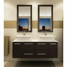 "60"" Double Sink Bathroom Vanity Set"