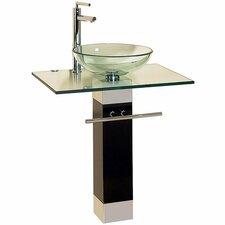 """23"""" Bathroom Vanity Set with Single Sink"""