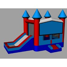 Patriot Xtreme Wet/Dry Commercial Grade Inflatable Bouncy House and Slide Combo