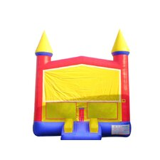 Rainbow Commercial Grade Inflatable Bouncy Castle