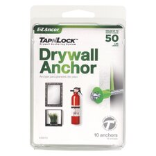 Tap-N-Lock Anchor and Screw (Set 10)