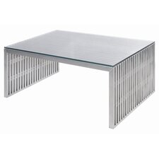 Amici Coffee Table with Tempered Glass Top