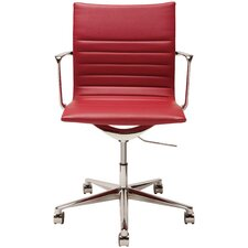 Antonio Mid-Back Office Chair with Castors
