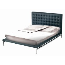 Bentley Naugahyde Platform Bed