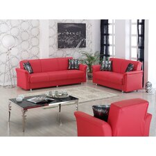 <strong>Beyan Signature</strong> Dallas Sleeper Living Room Collection