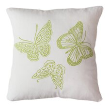<strong>Sustainable Threads</strong> Butterflies Pillow