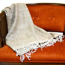 Peace Organic Silk Throw