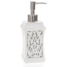 Brocade Mirror Lotion Dispenser