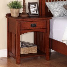 Mission 1 Drawer Nightstand