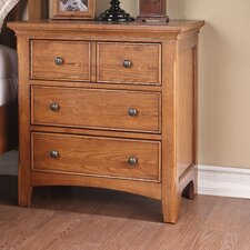 <strong>Michael Ashton Design</strong> Ashland 3 Drawer Nightstand