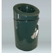 Ashton Trash Industrial Trash Bin with Lid