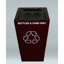St. Louis 2 Stream Multi Compartment Recycling Bin