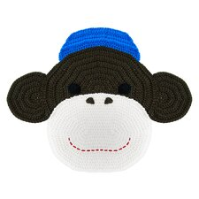 Crochet Monkey Kids Rug