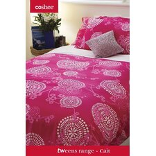 Cait 3 Piece Duvet Set