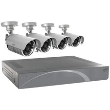 4-Channel Smart Security DVR System