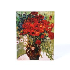 "<strong>Trademark Fine Art</strong> Daisie and Poppies by Vincent Van Gogh, Canvas Art - 32"" x 24"""