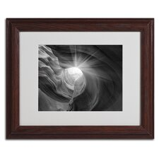 'Searching Light I' Matted Framed Art by Moises Levy