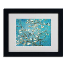 """""""Almond Branches"""" Matted Framed Art"""