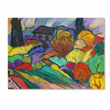 Manor Shadian 'Rainbow Forest' Canvas Art