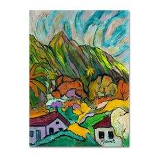 Manor Shadian 'Maui Peaks' Canvas Art
