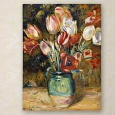 """""""Vase de Fleurs 1888-89"""" Canvas Art"""
