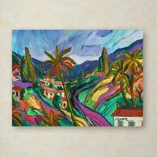 Manor Shadian 'Swept Slopes' Canvas Art