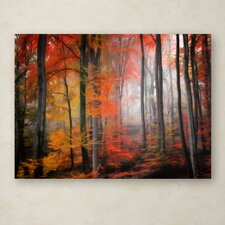 "Philippe Sainte-Laudy ""Wildly Red"" Canvas Art"