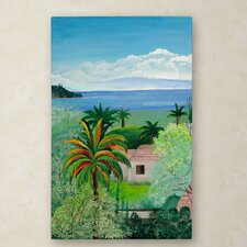 'Costa Rican Beach' Canvas Art
